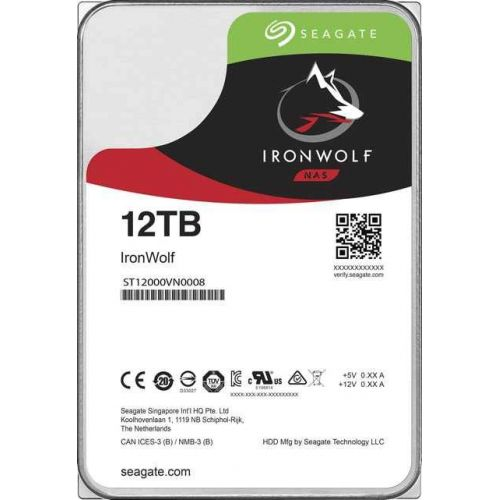 12Tb Seagate Ironwolf ST12000VN0008