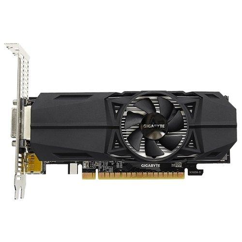 GIGABYTE GeForce GTX 1050 Ti 1328Mhz PCI-E 3.0 4096Mb (GV-N105TOC-4GL)