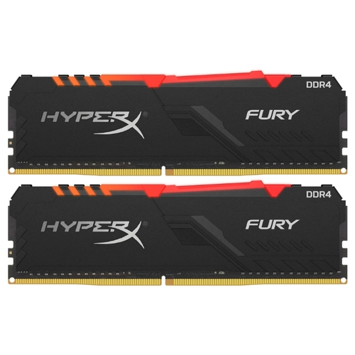 16Gb 2666 HyperX FURY RGB (HX426C16FB3AK2/16) KIT