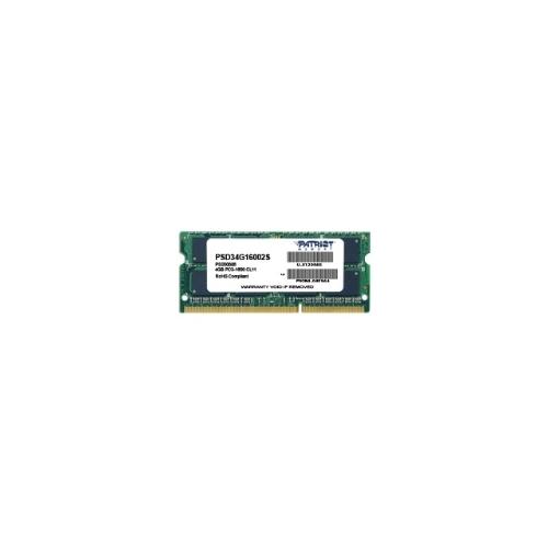 4Gb 1600 Patriot (PSD34G16002S) 1.5V