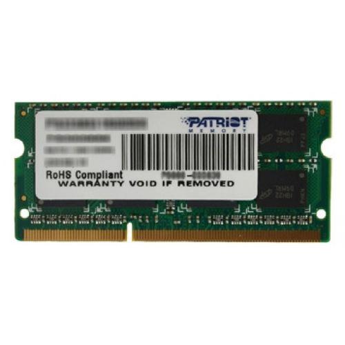 Оперативная память 8Gb 1600 Patriot Memory PSD38G16002S