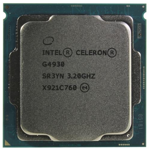 Intel Celeron G4930 (3,2GHz) 2Mb S1151 v2, oem