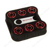 Комплект фитингов Monsoon 13/10mm SIX PACK – RED
