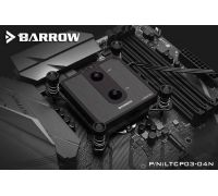 Водоблок Barrow LTCP03-04N Black