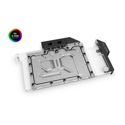 Водоблок для видеокарты EK-Quantum Vector TUF RTX 3080/3090 D-RGB - Nickel + Plexi
