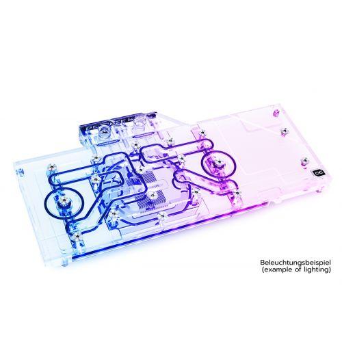 Водоблок Alphacool Eisblock Aurora Acryl GPX-N RTX 3090/3080 ROG Strix with Backplate
