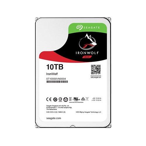 Жесткий диск 10TB Seagate IronWolf NAS ST10000VN0004