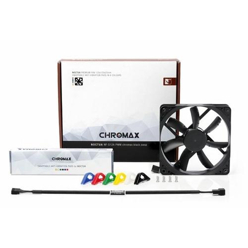 12 Noctua NF-S12A PWM Chromax