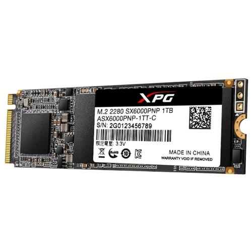 1Tb M.2 NVMe ADATA XPG SX6000 Pro