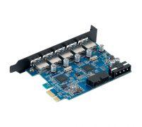Контроллер PCI-Express USB 3.0, 5-port Orico PVU3-5O2I