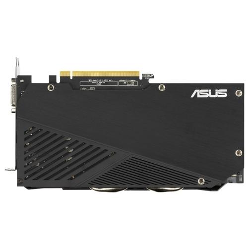 ASUS DUAL GeForce GTX 1660 SUPER 1530MHz PCI-E 3.0 6144MB 14002MHz 192 bit DVI HDMI DisplayPort HDCP EVO OC