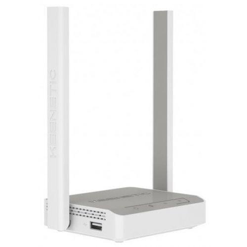Keenetic 4G (KN-1211) Интернет-центр для USB-модемов LTE/4G/3G с Mesh Wi-Fi N300 и 4-портовым Smart-коммутатором