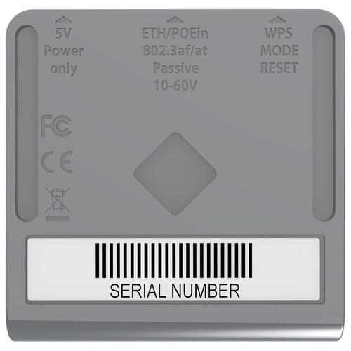 Беспроводной маршрутизатор MikroTik mAP Lite (RBmAPL-2nD)