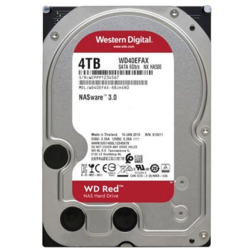 4Tb WD WD40EFAX Red