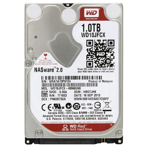 1Tb WD WD10JFCX Red