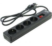 Сетевой фильтр APC P43B-RS 1м Black