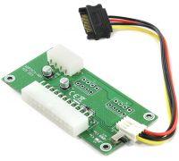 Синхронизатор 2 блорков питания Espada esp-dpss ATX 24Pin Dual PSU PS Sync Starter Extender Cable