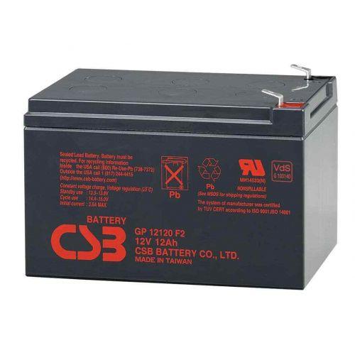 Аккумулятор CSB GP 12120 (12 V, 12 А·ч) для UPS