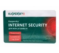 Продление Kaspersky Internet Security 2ПК/1 год, карта