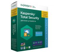 Продление Kaspersky Total Security на 2ПК / 1Год