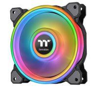120 Thermaltake Riing Quad 12 RGB Radiator Fan TT Premium Edition Single Pack (CL-F088-PL12SW-C)