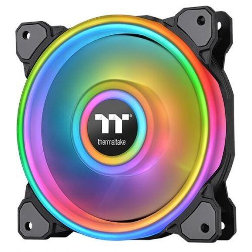 140 Thermaltake Riing Quad 14 RGB Radiator Fan TT Premium Edition Single Pack (CL-F089-PL14SW-C)