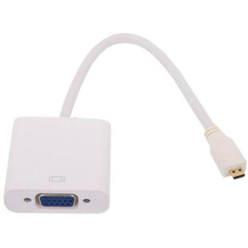 Конвертер HDMI(M)micro  -> VGA(15F)  VCOM <CG593>