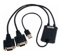 Кабель USB - COM*2 STLab (U-700)