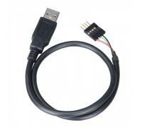 Переходник с мат. платы 4pin M to USB 2.0 A - Akasa EXUSBIE-40 0.4 метра