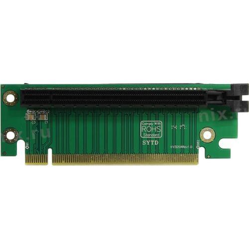 Планка PCI-Ex16 - PCI-Ex16 Espada (epcie162u) Г-образный 2U