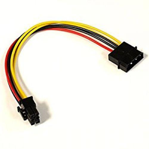 Переходник питания для видеокарт molex-6pin