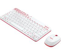 Комплект Logitech MK240 Nano White-Red USB