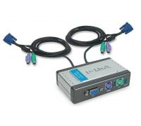 Переключатель D-Link 2-port KVM Switch (KVM-121)