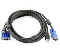 Набор кабелей для переключателей D-Link, 3м (DKVM-CU3)