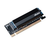 Контроллер PCI-E - M.2 Akasa AK-PCCM2P-05 (с радиатором)