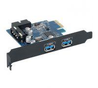 Контроллер PCI-E USB 3.1 ORICO PVU3-2O2I