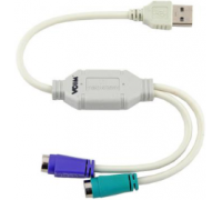 Кабель - адаптер USB - 2*PS/2 VCOM
