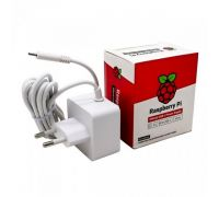Блок питания Raspberry Pi 4 Official Power Supply White