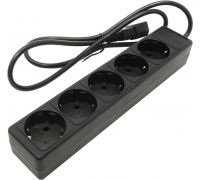 Сетевой фильтр UPS 5bites (SP5-B-10U) Black 1m